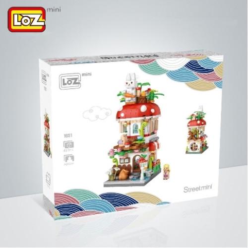 1651 LOZ – 蘑菇屋(New) | LOZ